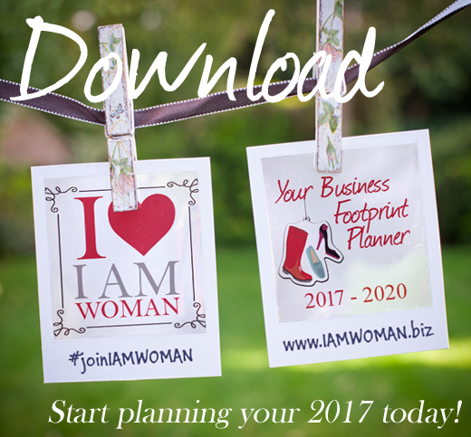 I AM WOMAN Business Footprint Planner