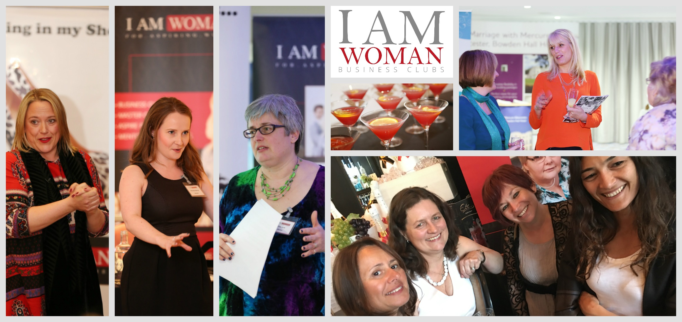 I AM WOMAN business clubs
