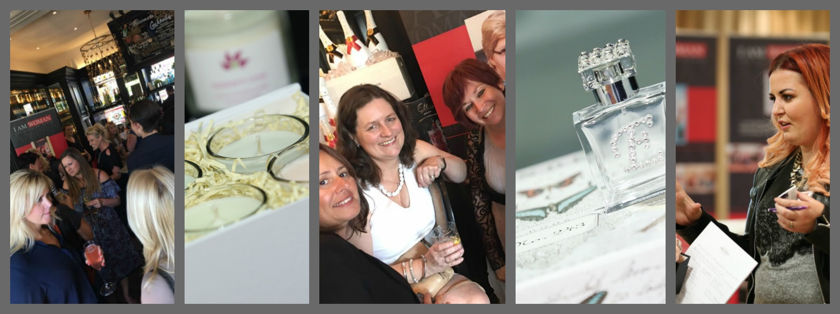 networking collage x 5