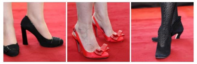 shoes x 3