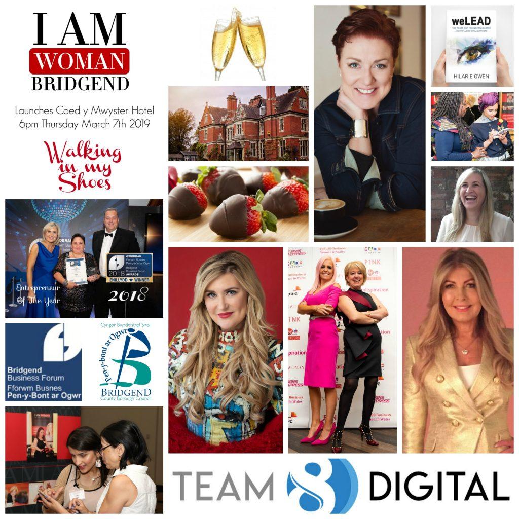 bridgend i am woman launch collage
