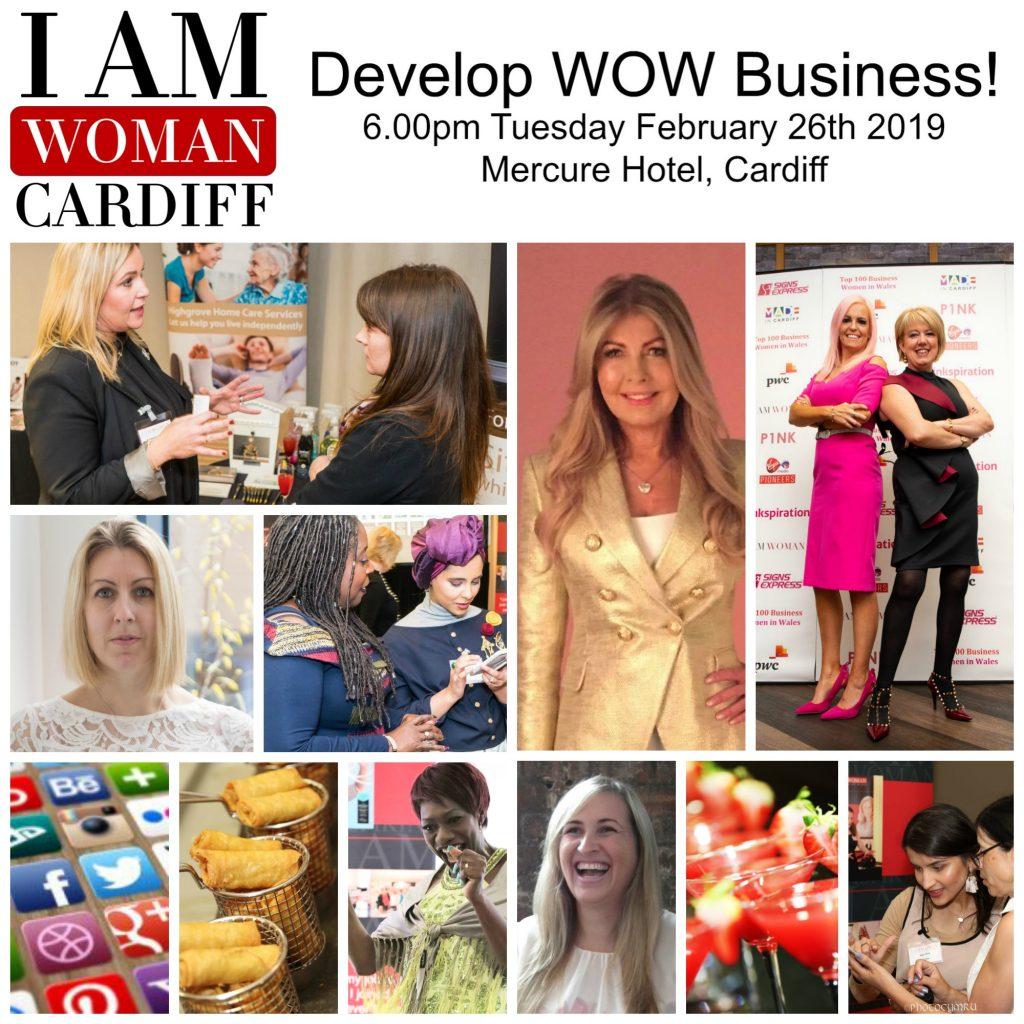 cardiff I AM WOMAN COLLAGE FEB 2019